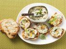 Crostinis with White Bean and Basil Puree recipe