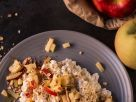 Crunchy Oats and Cottage Cheese Bowl recipe