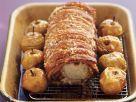 Crunchy Pork Saddle with Fruit recipe
