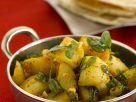 Curried Potatoes with Fenugreek recipe