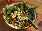 Dandelion Salad with Bacon and Eggs recipe