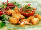 Deep-Fried Peppers with Cheese Filling recipe