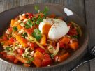 Diet Mixed Veggie Bowl with Eggs recipe
