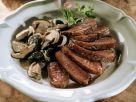 Duck Breast with Porcini Mushrooms recipe