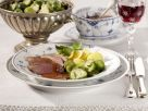 Duck Breasts with Brussels Sprouts recipe