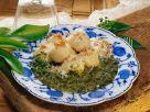 Dumplings with Wild Garlic recipe