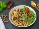 Easy Pasta with Dried Tomatoes recipe