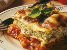 Spinach and Ricotta Lasagna recipe