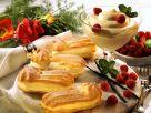 Eclairs with Vanilla Cream recipe