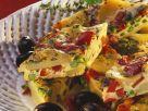 Egg and Vegetable Tart Slices recipe