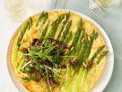 Egg Tart with Asparagus Spears recipe