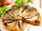 Eggplant-Lamb Tarte Tatin recipe