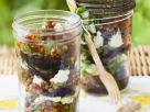 Eggplant Salad with Soft Cheese recipe