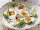 Eggs in Herb Sauce recipe