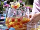 Elderberry Punch with Melon Balls recipe