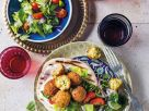Falafel with Fresh Salad recipe