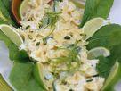 Farfalle with Cucumber and Yogurt recipe