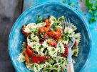 Farfalle with Herbs and Peppers recipe