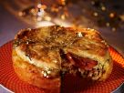 Festive Fowl and Fruit Pastry Pie recipe