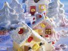 Festive Meringue Houses recipe