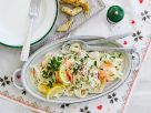 Fettuccine with Artichokes and Smoked Salmon recipe