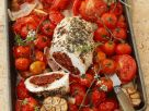 Filled Chicken with Tomatoes recipe