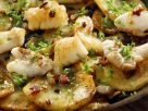 Fish and Potatoes with Bacon recipe