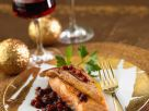 Fish Fillet with Winter Berries recipe