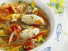 Fish Quenelles with Broth recipe