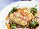 Fish with Lentils recipe