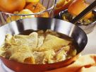 Flambéed Crêpes with Orange Sauce (Crêpes Suzette) recipe
