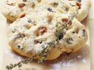 Focaccia with Olives and Dried Tomatoes recipe