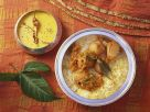 Fragrant Rice and Potato with Sauce recipe