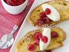 French Toast with Mascarpone and Raspberries recipe