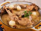Fricassee of Pheasant with Mushrooms and Pearl Onions recipe
