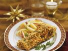 Fried Carp and Potato Salad with Apples recipe