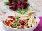 Fried Chicken Strips on Quinoa recipe