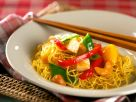 Fried Noodles with Pineapple and Vegetables recipe