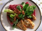Fried Plaice Fillets with Salad recipe