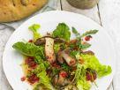 Fried Porcini Mushroom Salad recipe