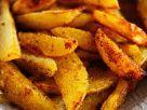 Fried Potato Wedges recipe