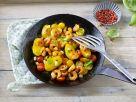 Fried Potatoes with Shrimp recipe