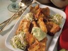 Fried Tofu with Avocado Sauce recipe