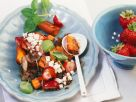 Fruit and Vegetable Salad with Feta recipe