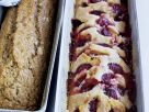 Fruit Cake with Bananas and Plums recipe