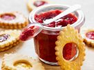 Fruit Jam with Butter Cookies recipe