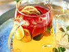 Fruit Punch with Strawberries, Ginger, Lime and Lemongrass recipe