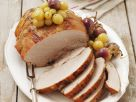 Fruity Roast Pork with Grapes recipe