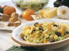 Fruity Salad with Cheese and Croutons recipe
