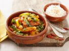 Garbanzo Bean and Pepper Stew recipe